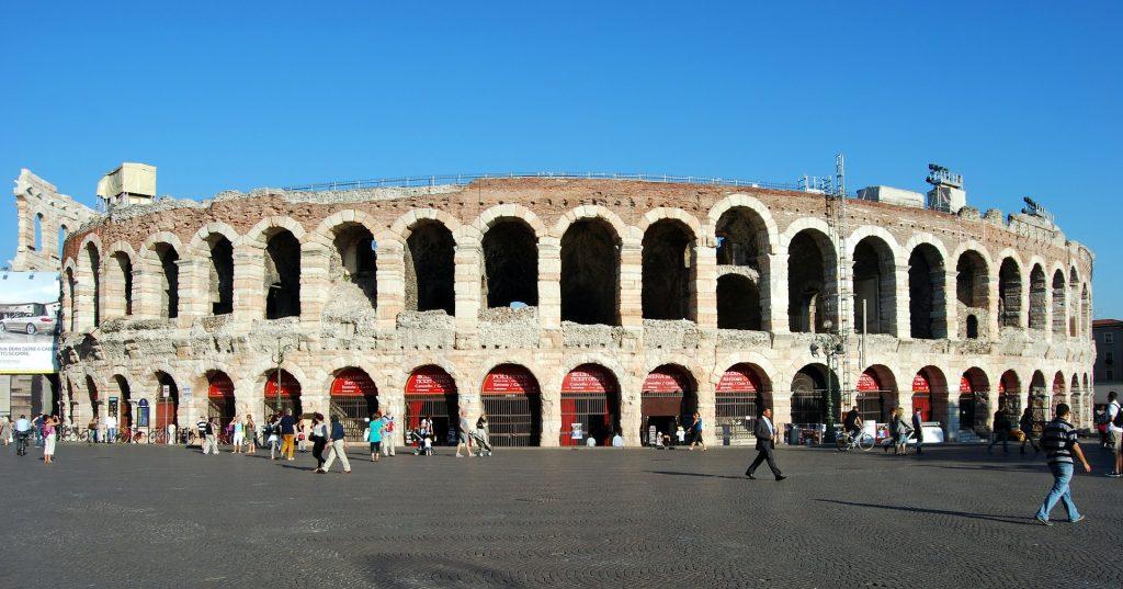 amfiteatr w weronie
