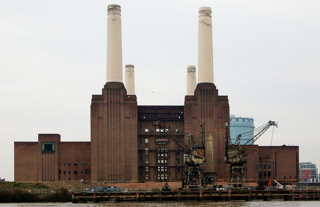 londyn elektrownia