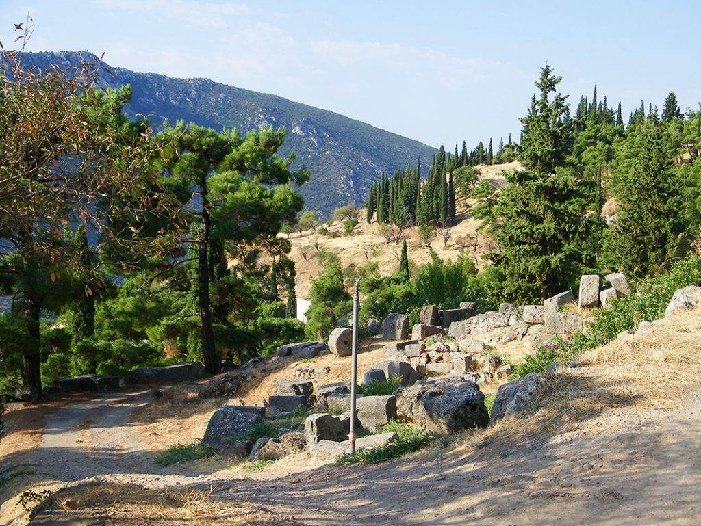 greece nature delphi