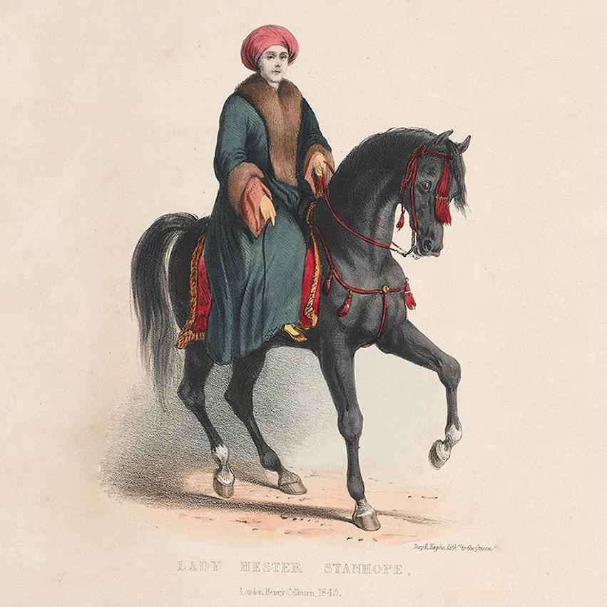kobiety w podróży traveling woman explorer Lady Hester Stanhope