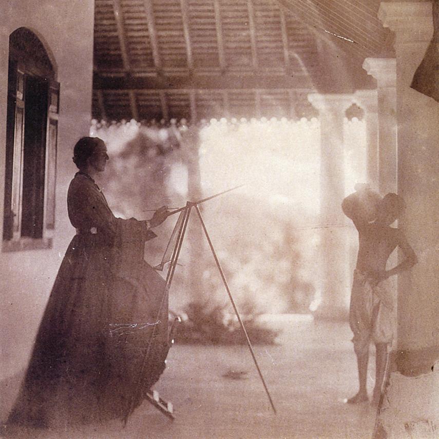 kobiety w podróży traveling woman explorer Marianne North