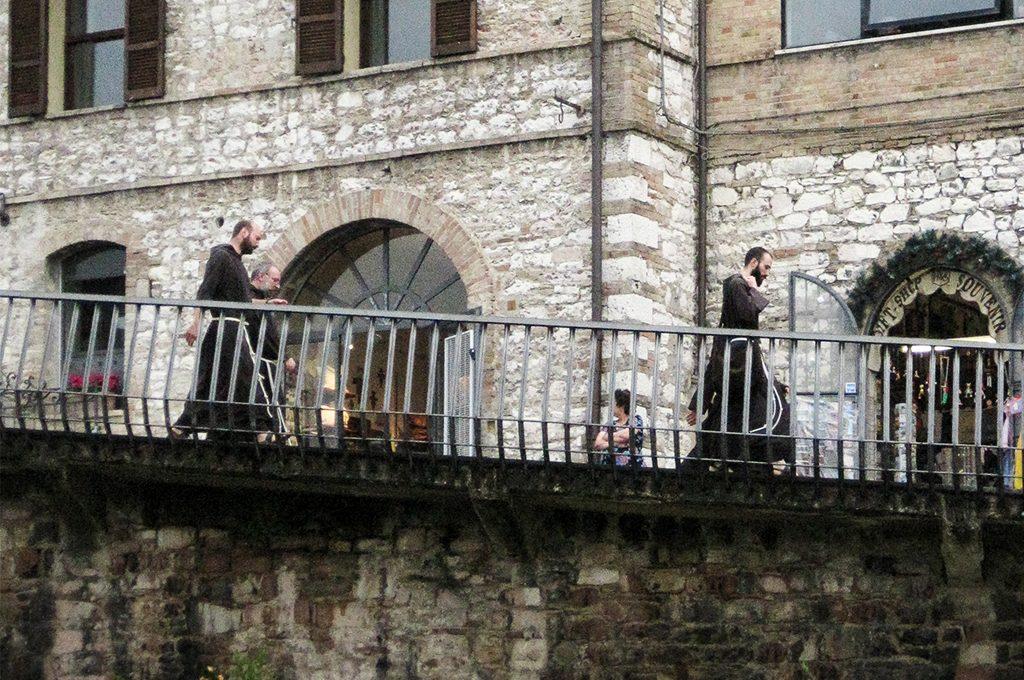 Franciszkanie, Asyż, Włochy międzynarodowy dzień ochrony zabytków