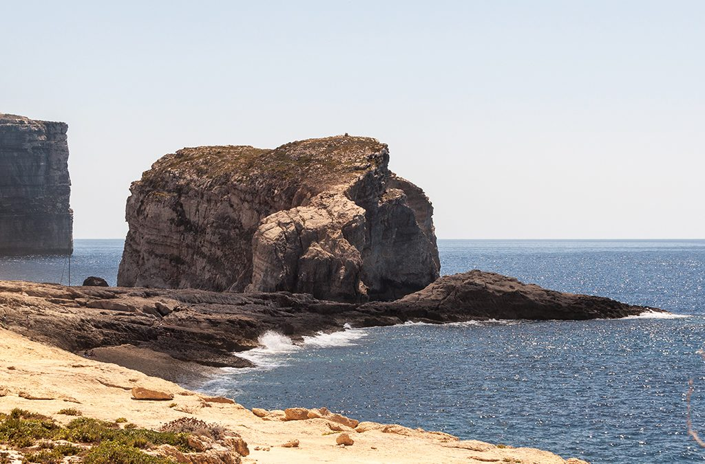 Fungus Rock Malta Gozo