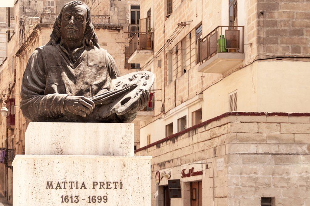 co zobaczyć na malcie mattia preti monument malta island
