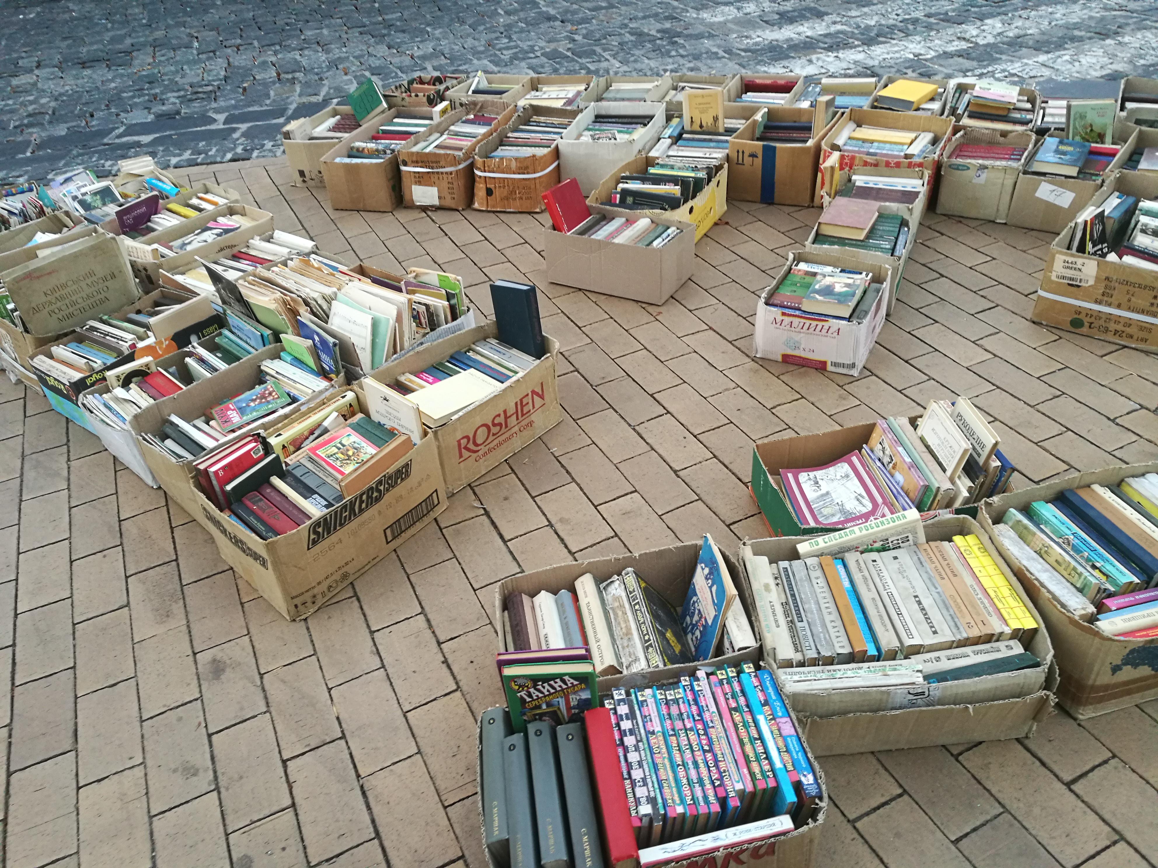 KIjów-Ukraina-książki
