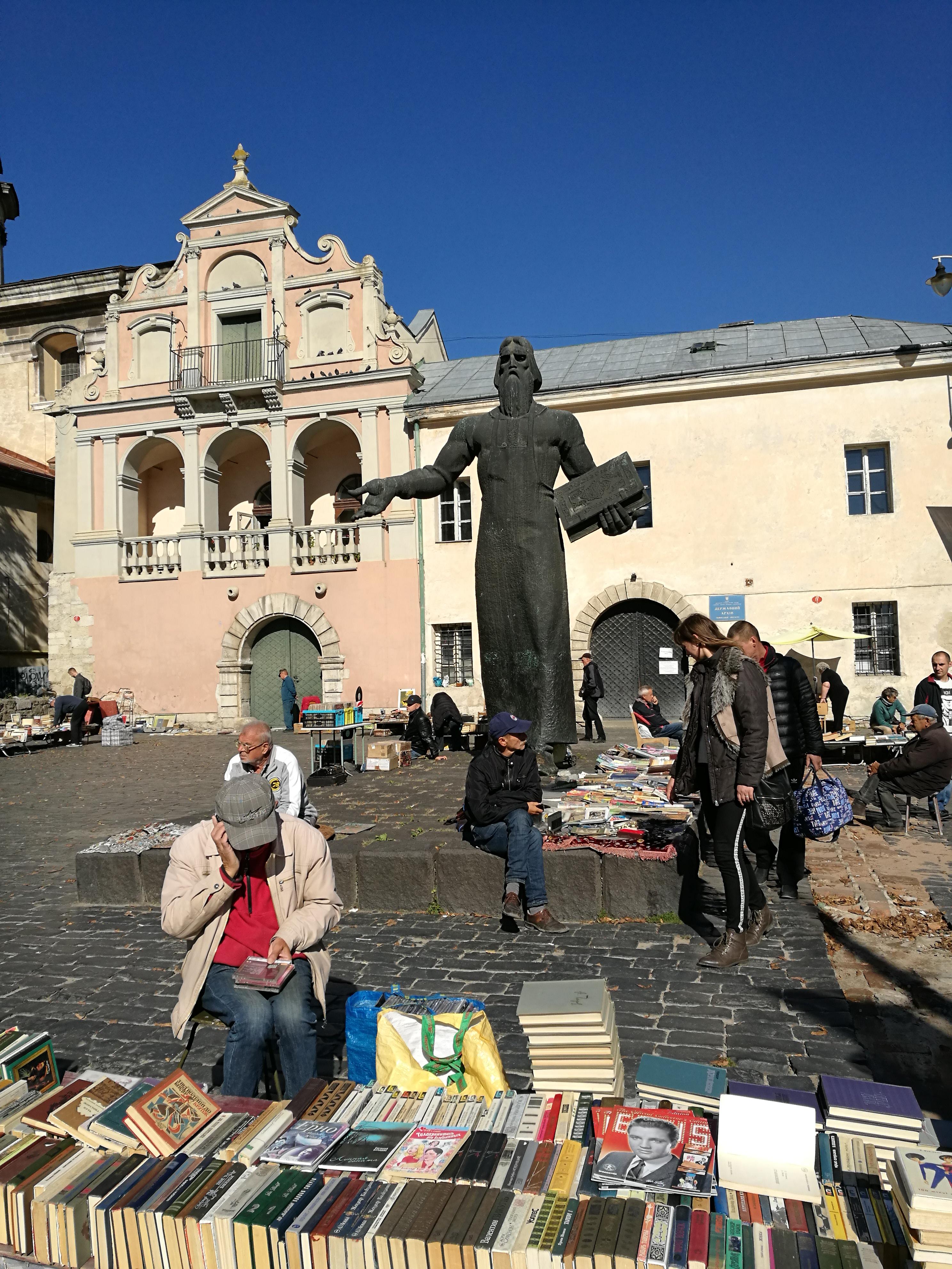 Lwów-Ukraina-książki