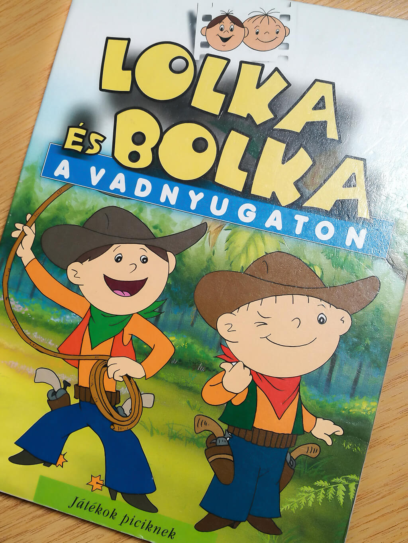 książka-bolek-i-lolek-po-węgiersku