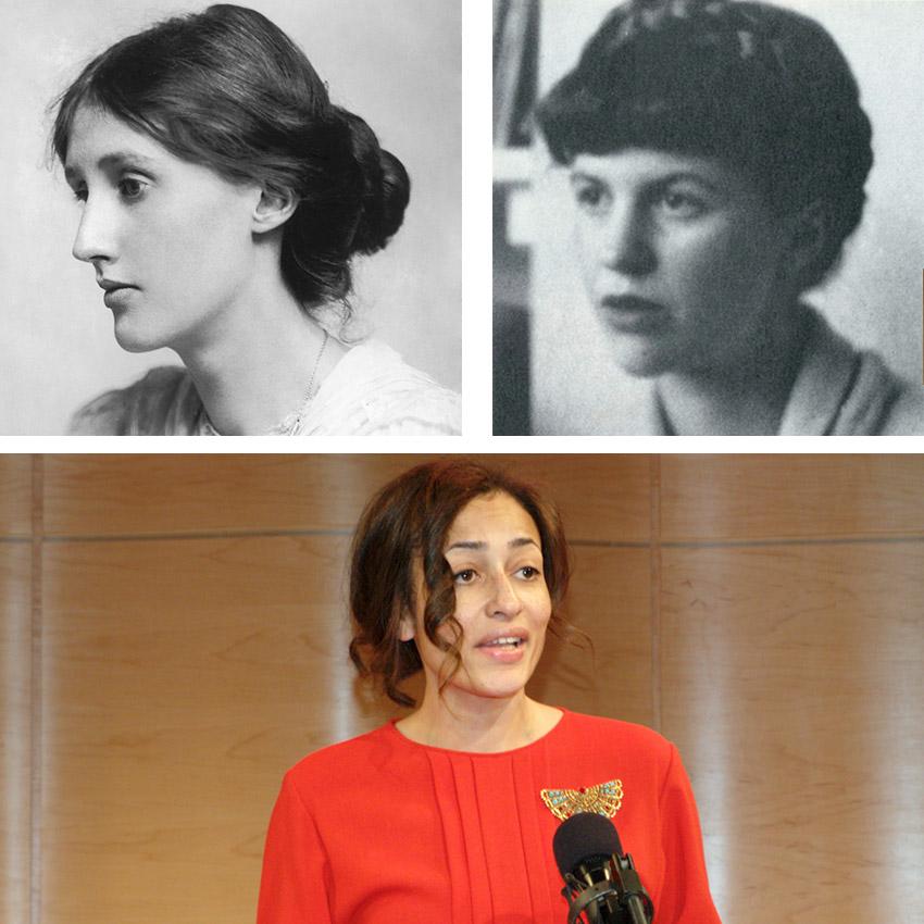 kobiety, Wirginia Woolf, Sylvia Plath, Zadie Smith