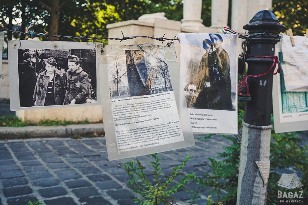 budapeszt protest żydowskie pamiątki