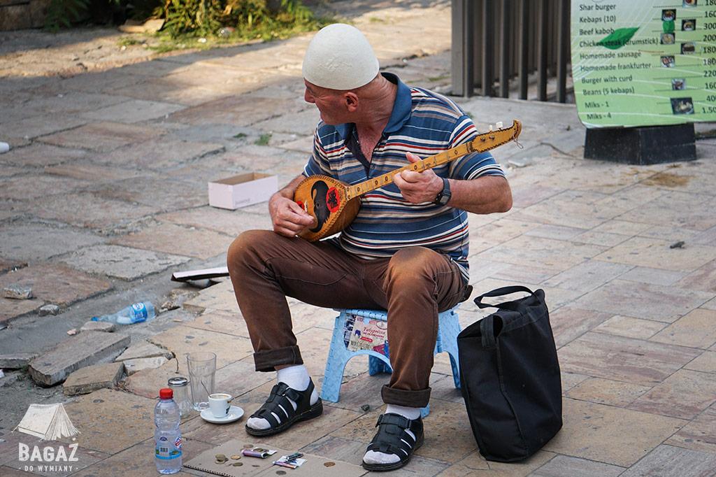 muzyk uliczny