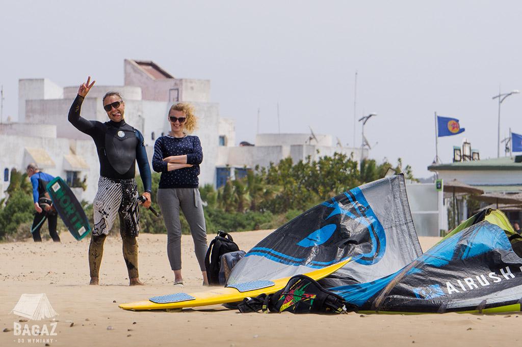 kitesurfing maroko