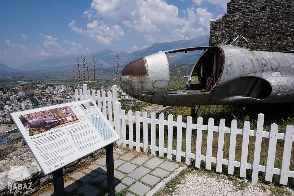 Albania Gjirokastra Samolot Lockheed T33 Shooting Star