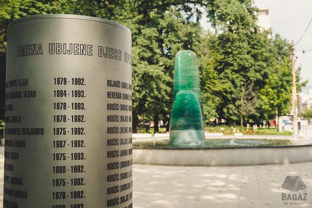 pomnik dzieci sarajewa bośnia i hercegowina