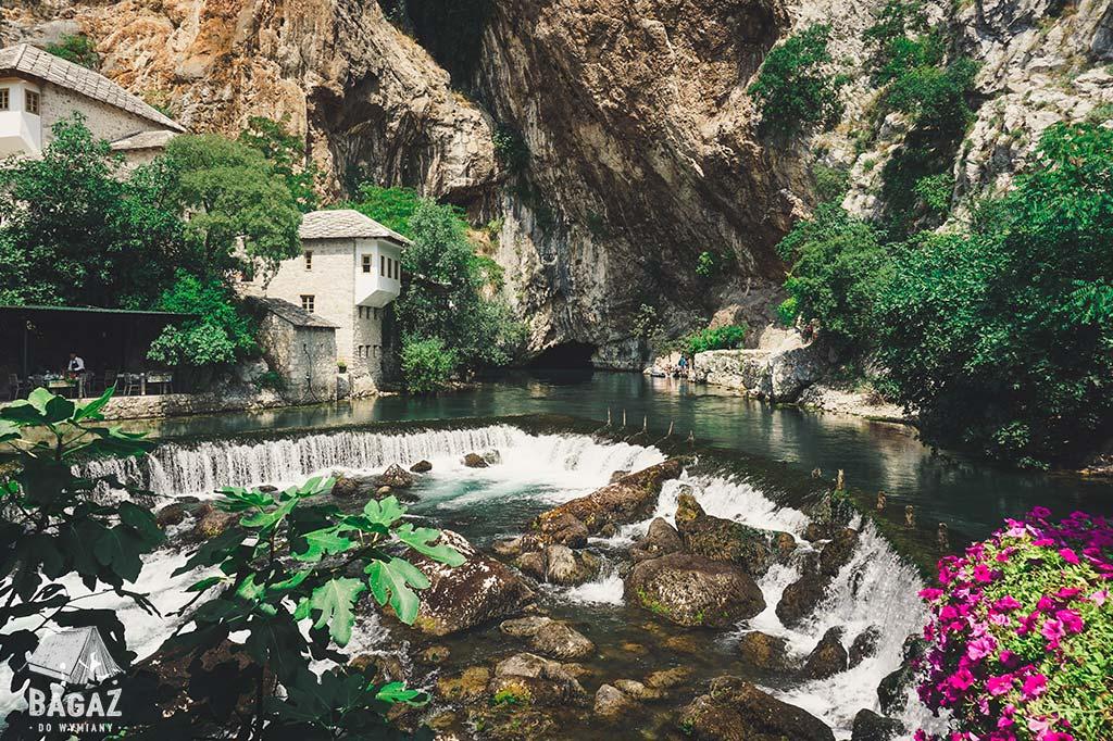 wodospady w blagaj bośnia i hercegowina