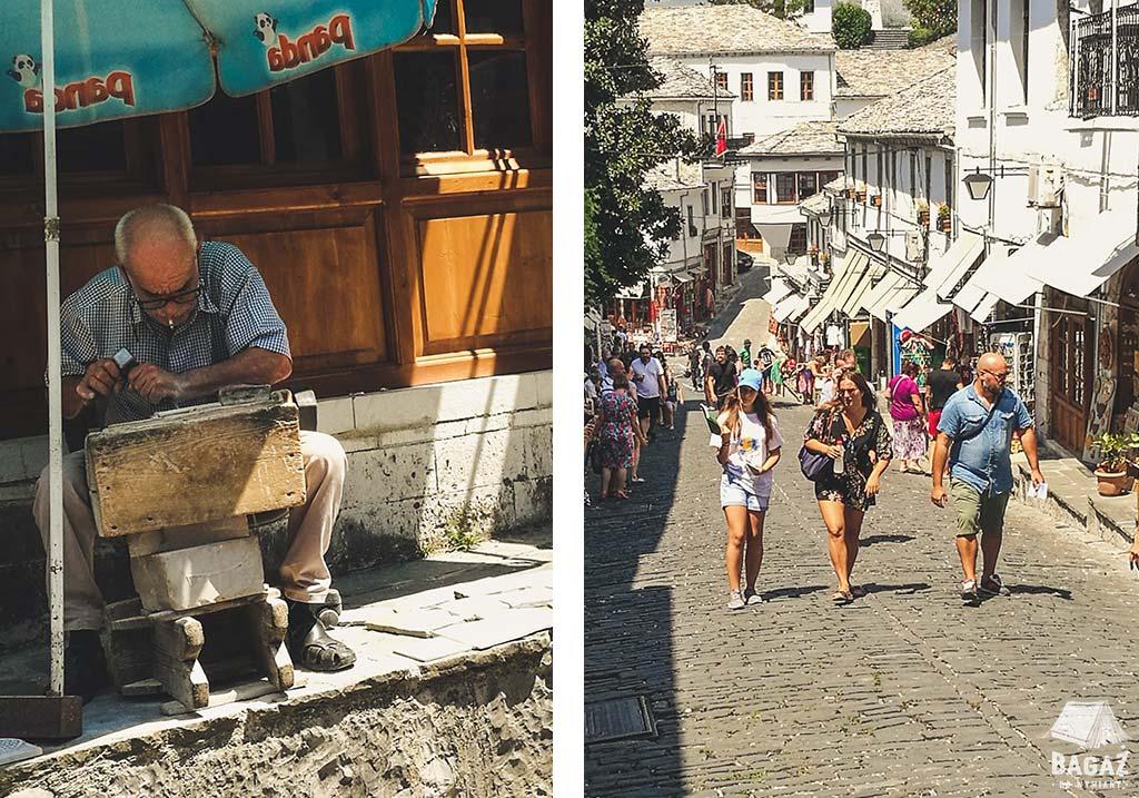 gjirokastra zwiedzanie zabytkowego miasta