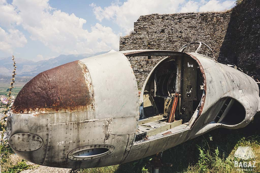 Lockheed T33 gjirokastra albania