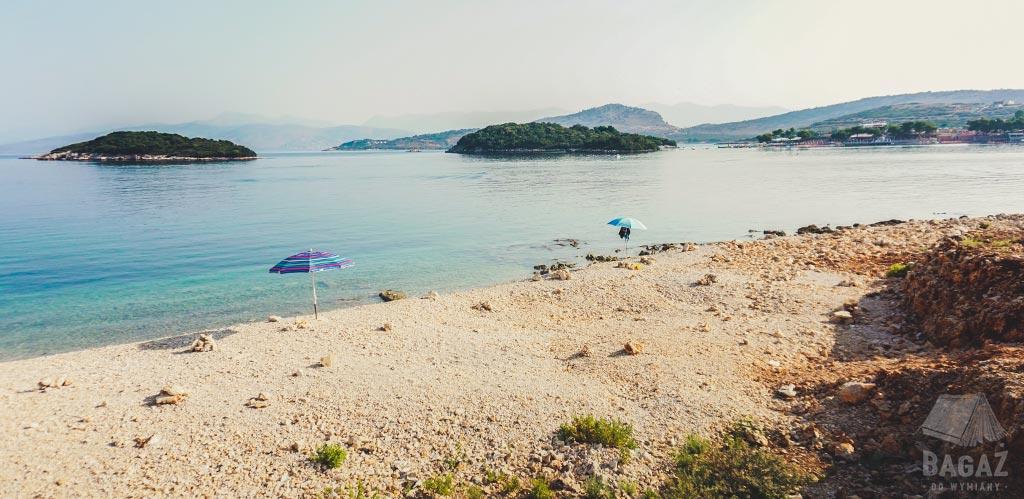 ksamil dzika plaża