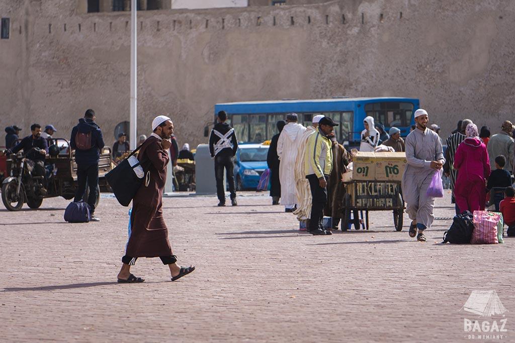 targowisko w maroku