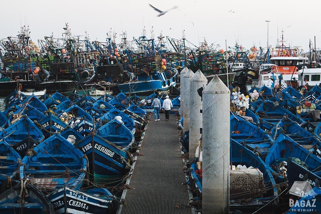 port d'Essaouira port rybacki w essaouirze