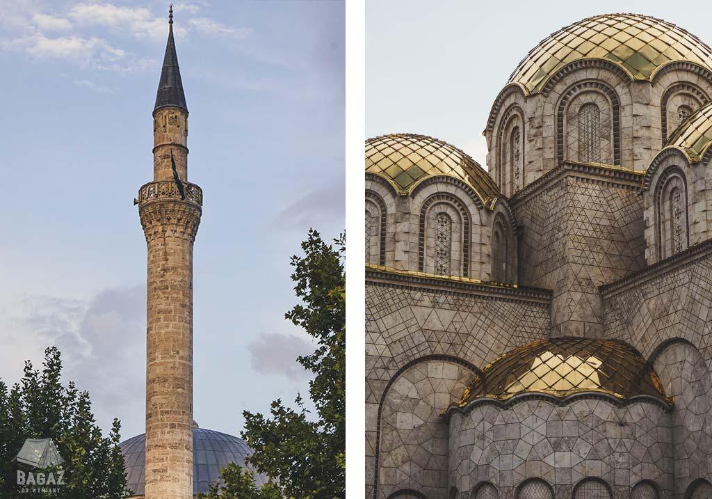 meczet i dom pamięci Matki Teresy w stolicy Macedonii