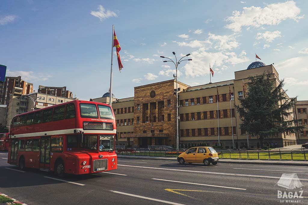 budynek Ministerstwa Spraw Zagranicznych w Skopje