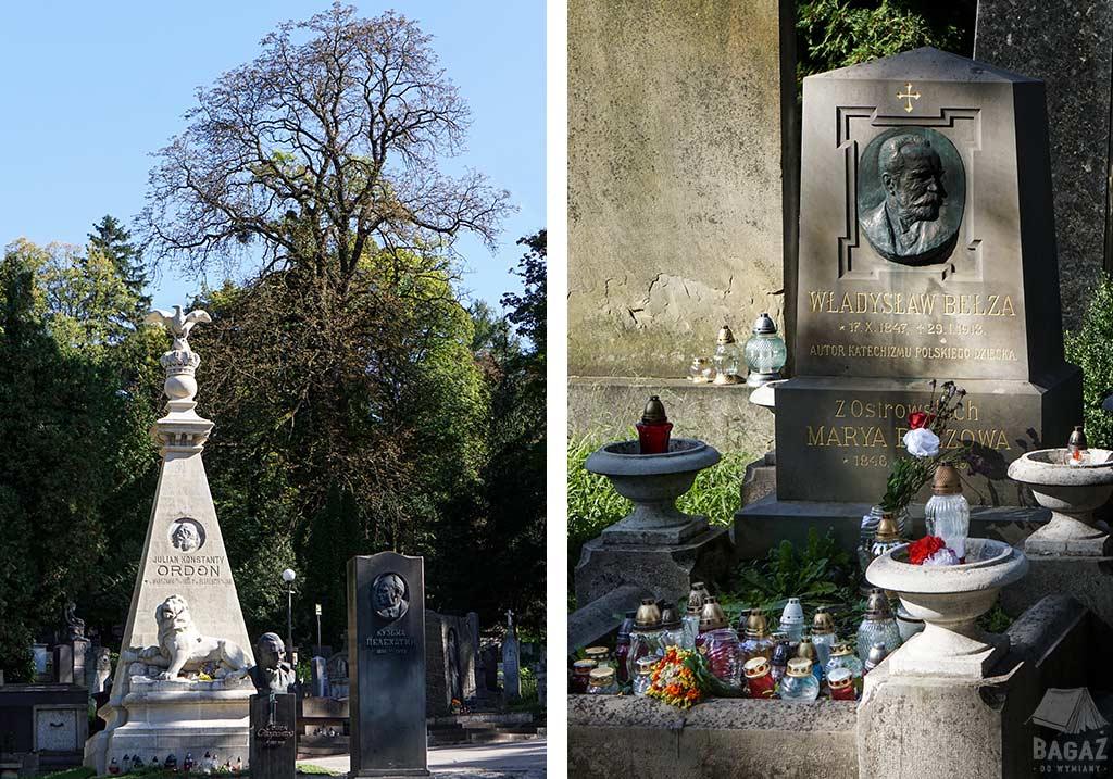 grób ordona i władysława bełzy we lwowie