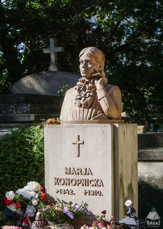 grób marii konopnickiej