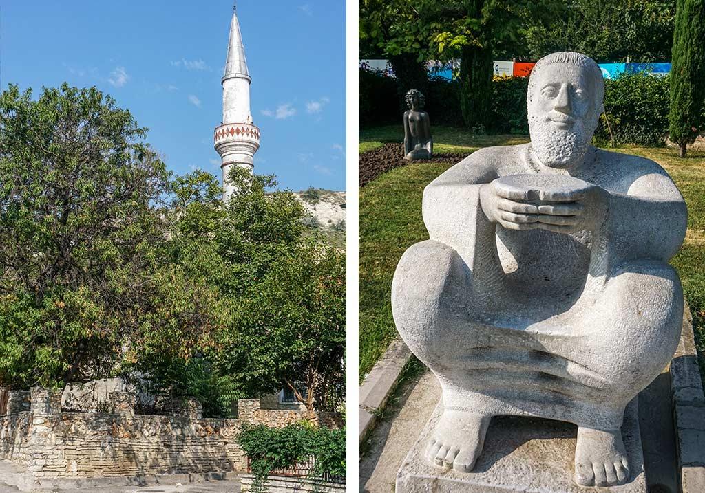 Dionizos i meczet w Bałczik