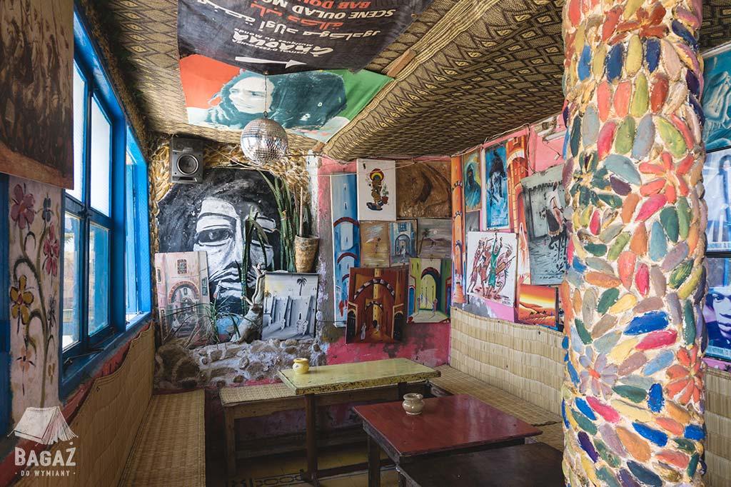 diabat - wnętrze restauracji, w której podobno jadł Jimi Hendrix
