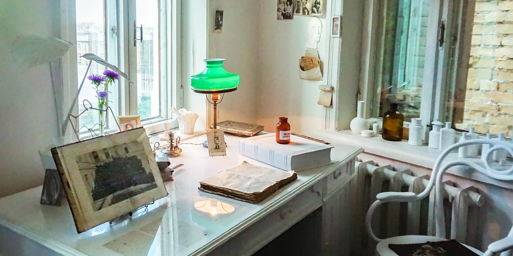 Muzeum Bułhakowa w Kijowie – nie tylko rękopisy nie spłoną