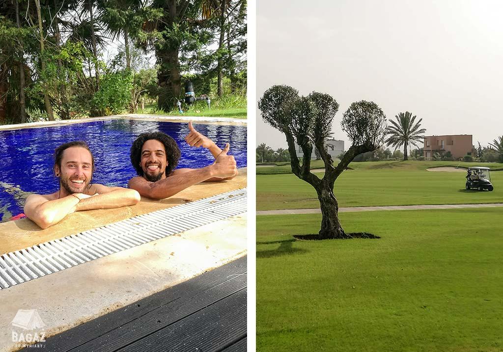dom na polu golfowym w tunezji