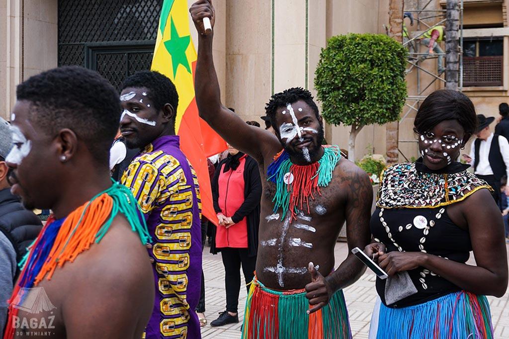 drużyna z Senegalu podczas World Folklore Days 2019 w Marrakeszu