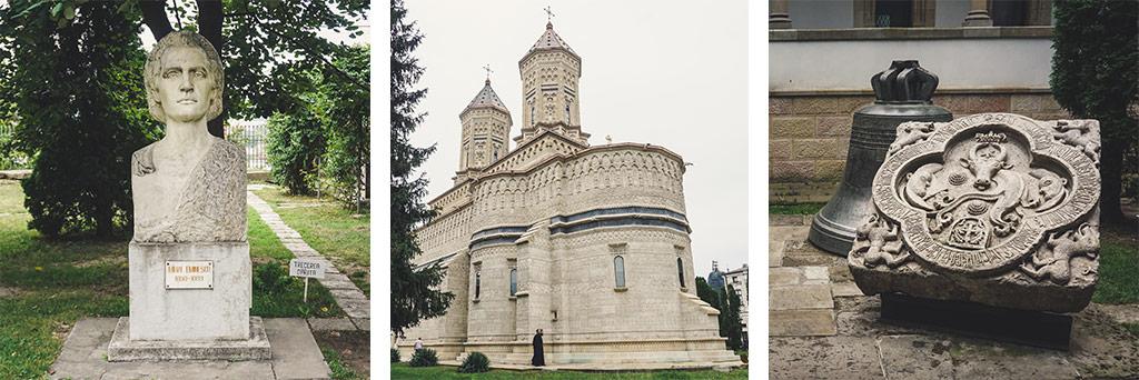 cerkiew i rzeźby w jassy