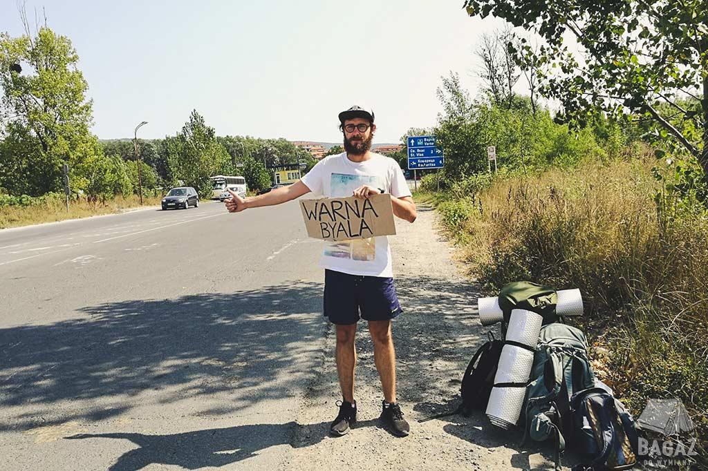 autostop w Bułgarii
