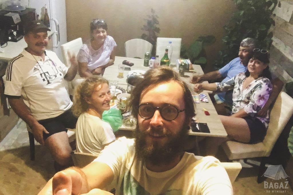 impreza z Bułgarami