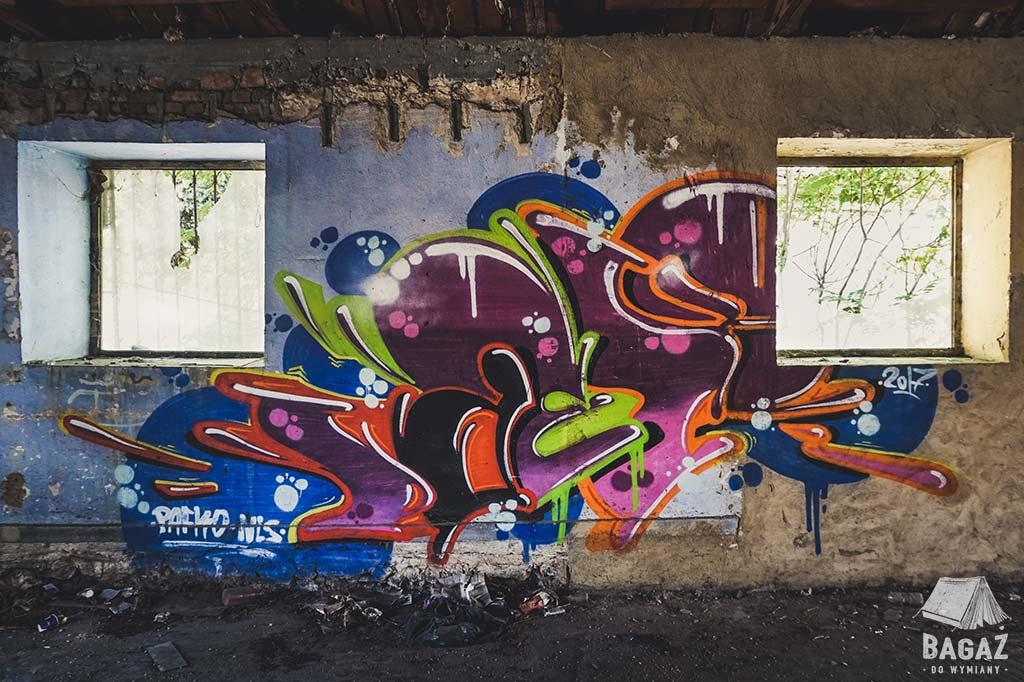 graffiti bałczik urbex