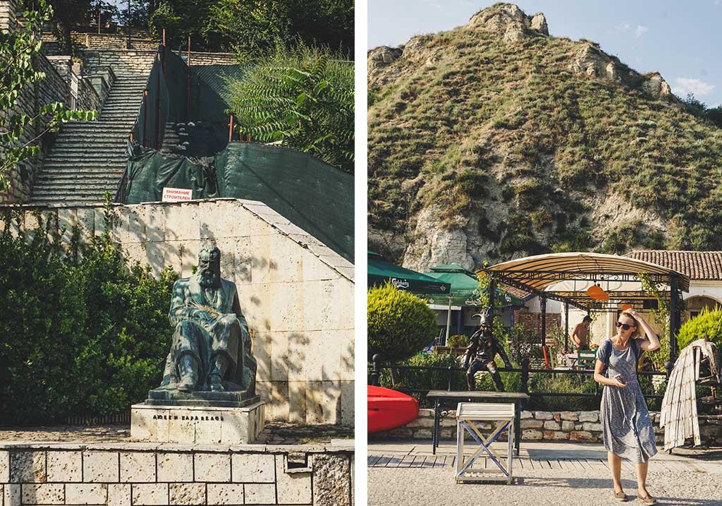 pomniki nad morzem w Bułgarii