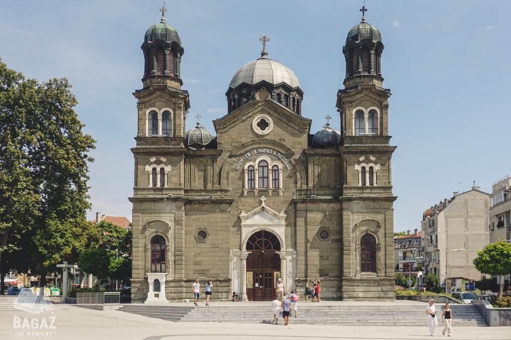 katedra świętego Cyryla i Metodego w Burgas