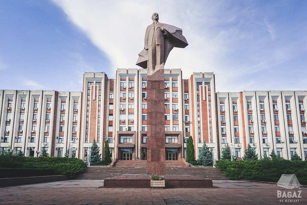 pomnik lenina w tyraspolu, zwiedzanie naddniestrza