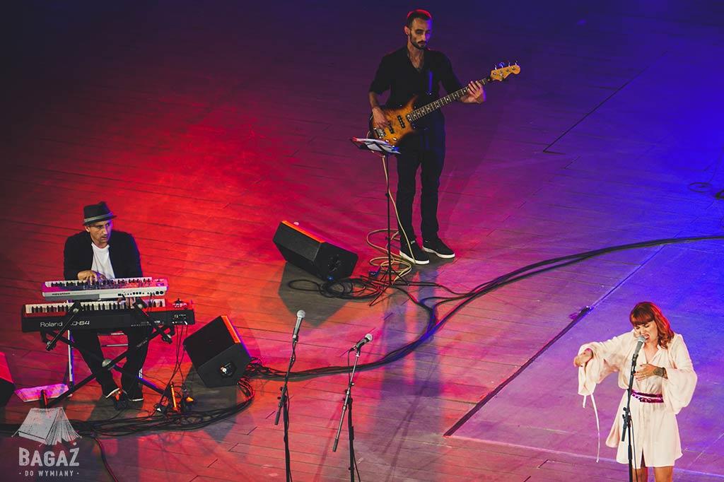 koncert jazzowy na deskach koloseum w Bułgarii