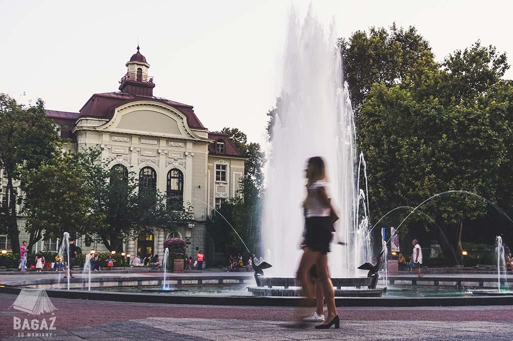 fontanna w centrum Plovdiv w Bułgarii