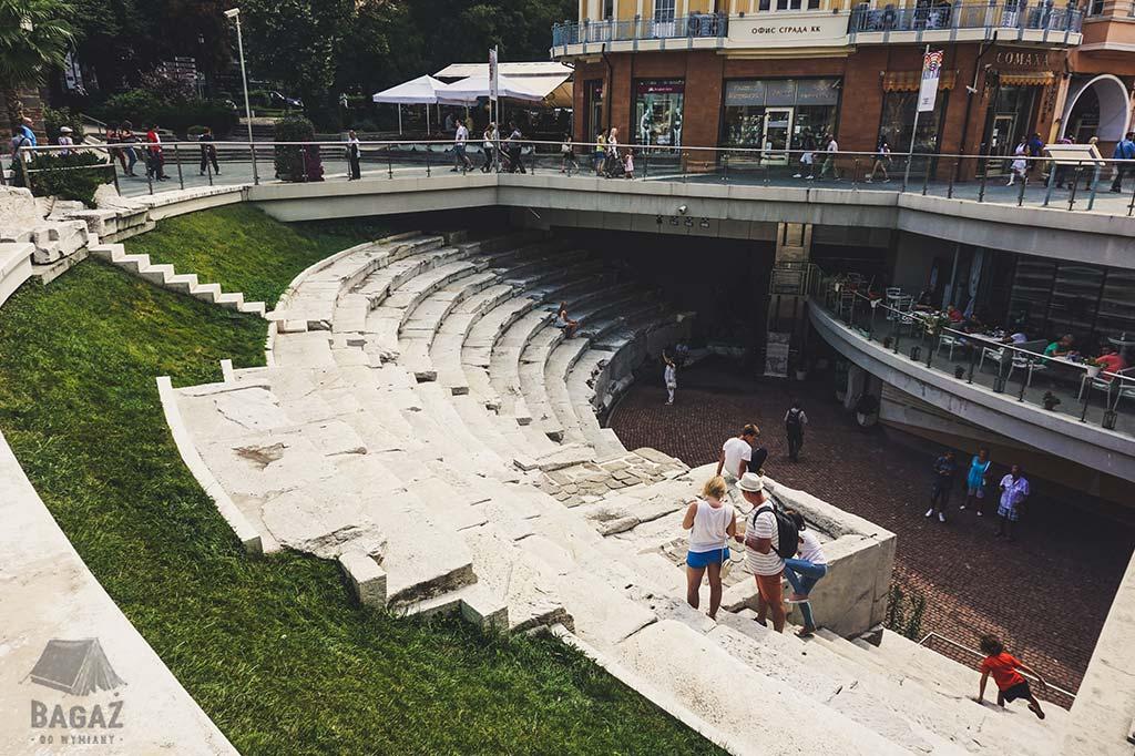 antyczne ruiny w bułgarskim Plovdiv