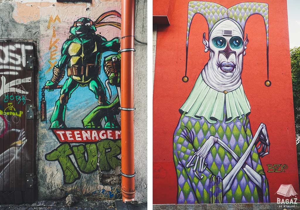 streetart w bułgarskim Plovdiv