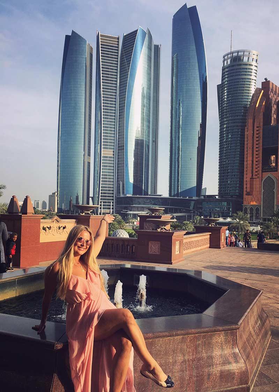 abu dhabi wieżowce