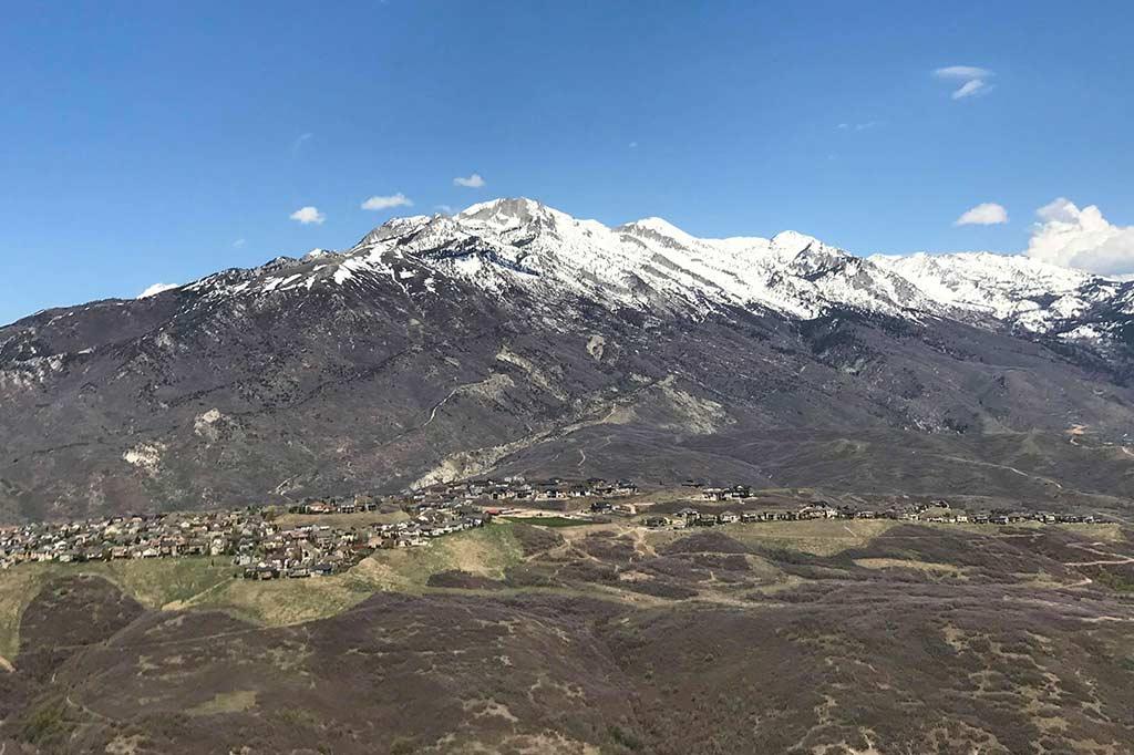 góry w okolicach draper w usa