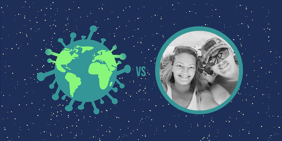 Polacy w świecie vs koronawirus #23: Karolina i Przemek o sytuacji w kenijskim Diani Beach